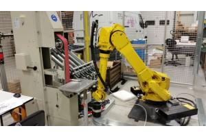 Video - robot za brušenje ulitkov
