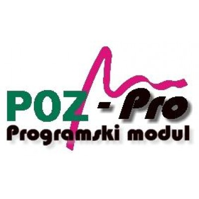 Programski paket POZ-PRO za Digitax Plus