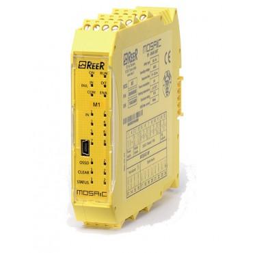 MI802 MOSAIC I/O expansion unit 8 input-2pairsOSSD